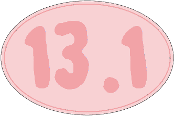 13.1 Pink Oval