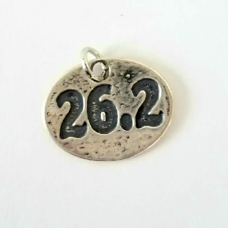 Charm: 26.2 on Necklace