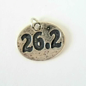 26.2 Oval Charm on Necklace